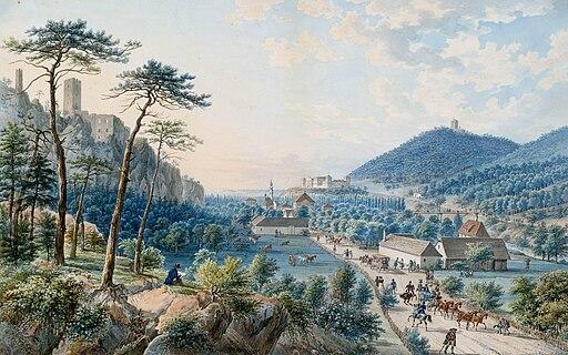 Raulino Landschaft mit Schloss