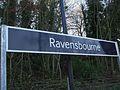 Ravensbourne station signage.JPG