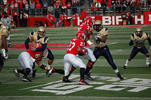 2007 Pittsburgh Panthers football team - Pitt at Rutgers on November 17, 2007