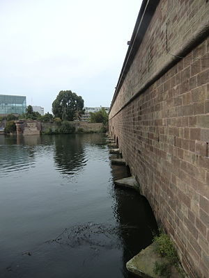Barrage Vauban - Image: Rear of Barrage Vauban