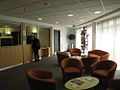 Reception area of John Fosters accommodation hall.JPG