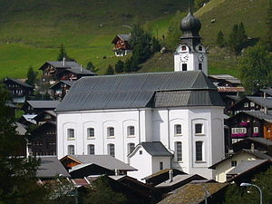 Goms, Valais - Church of Mariä Geburt