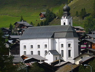 Goms, Valais - Church of Mariä Geburt