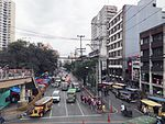 C.M. Recto Avenue looking east from Abad Santos overpass