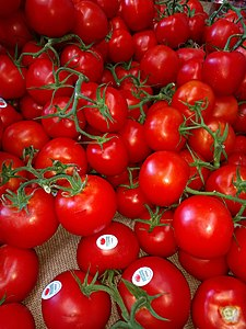 Red Tomatoes with PLU code