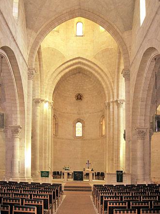 Church of the Redeemer, Jerusalem - The interior of the Church of the Redeemer