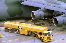 Refuel of a C-5A Galaxy