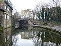Regent's Canal looking towards the Royal College Street Bridge - geograph.org.uk - 1712550.jpg