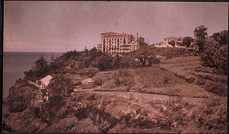 Somers Clarke - View of Reid's Hotel in Funchal, Madeira, photographed by Sarah Angelina Acland (c. 1910).
