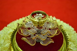 Śarīra - Relics of buddha from His Holiness Supreme Patriarch of Thailand