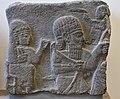 Relief from the citadel of Sam'al (Zincirli) in Turkey, ca. 730 BCE; Pergamon Museum, Berlin (1) (39344242165).jpg