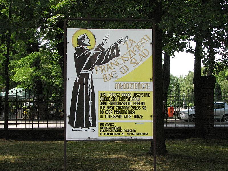 File:Religious poster Katowice Panewniki 2011 .JPG