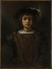 Rembrandt's Son Titus