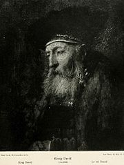 Study of an old man (King David)