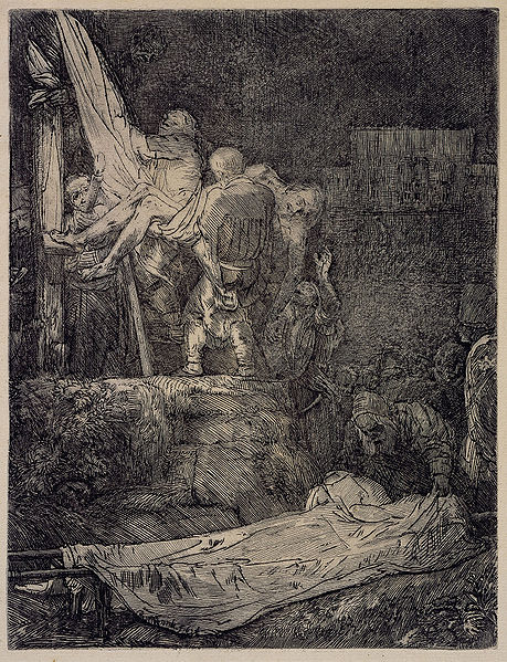 Tiedosto:Rembrandt van Rijn - The Descent from the Cross by Torchlight.jpg