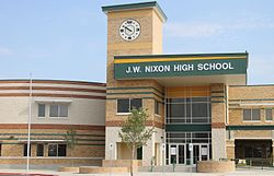 Renovated J. W. Nixon High School, Laredo, TX IMG 7413.JPG