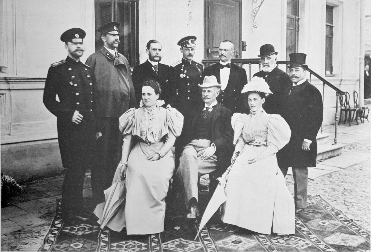 Representatives of the Duchy of Saxe-Altenburg at the coronation of Nicholas II.png