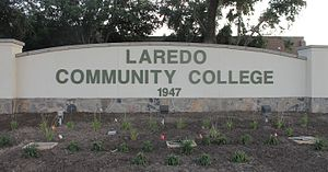 Laredo Community College - Image: Revised Laredo Community College sign IMG 7516