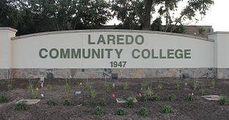Laredo Community College - Image: Revised Laredo Community College sign IMG 7516