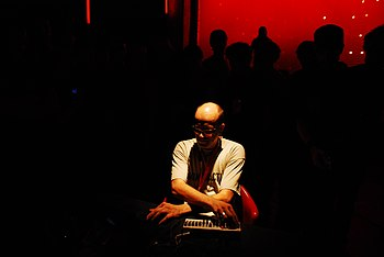 Robert Henke performing as Monolake at MUTEK i...