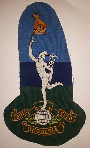 Zimbabwe Bird - Image: Rhodesia Signal Corps emblem