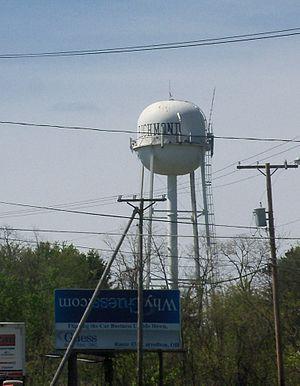 Richmond, Ohio - Richmond Water Tower
