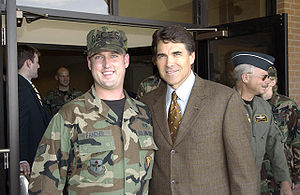 """The Honorable Rick Perry (front right), ..."