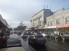 Riding Into Balmoral Town Centre From South III.jpg