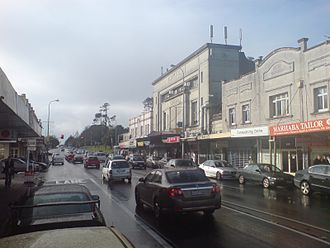 Balmoral, New Zealand - Image: Riding Into Balmoral Town Centre From South III