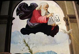Ridolfo Ghirlandaio - Image: Ridolfo del ghirlandaio, annunciazione, 1515 ca, da pieve di s. pietro a pitiana (reggello) 05