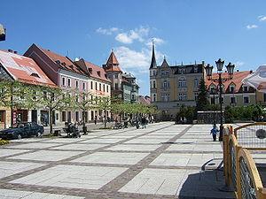 Pszczyna - Market Square – Rynek