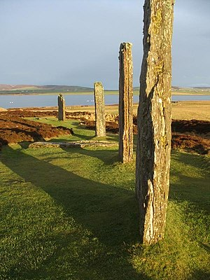 Orkney - Ring of Brodgar, on the island of Mainland, Orkney