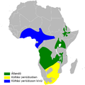 Riparia cincta distribution map.png