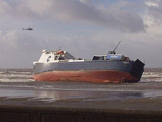 Blackpool shipwrecks - MS Riverdance