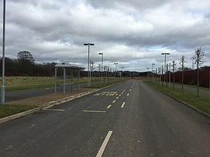 Keele University Science & Business Park - Road and Furniture Infrastructure