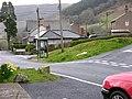 Road junction and telephone box, Aberangell - geograph.org.uk - 750790.jpg