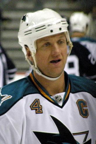 Rob Blake - Blake with the San Jose Sharks.