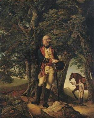Sir Robert Milnes, 1st Baronet - Sir Robert Milnes, Bt, by Joseph Wright of Derby.