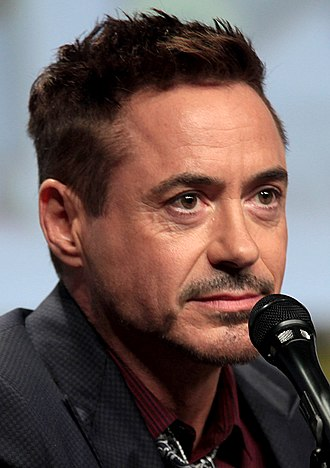 40th Saturn Awards - Robert Downey Jr. received the Best Actor award for Iron Man 3, his third win in six nominations.