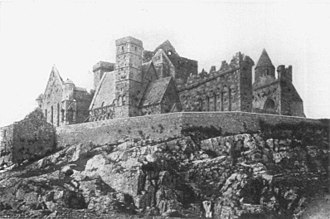 Battle of Knocknanuss - The Rock of Cashel, sacked by English Parliamentarian troops before the battle of Knocknanauss