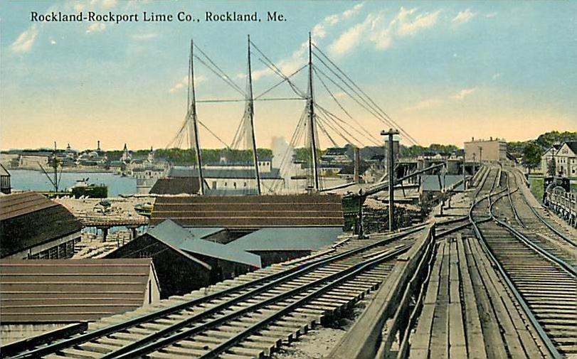 Rockland-Rockport Lime Company, Rockland, ME