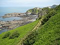 Rocky coastline at Ilfracombe - geograph.org.uk - 1430464.jpg