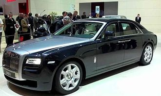 Rolls-Royce Ghost - Rolls-Royce 200EX.