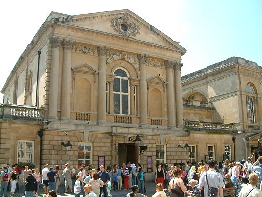 Roman Baths entrance, Bath