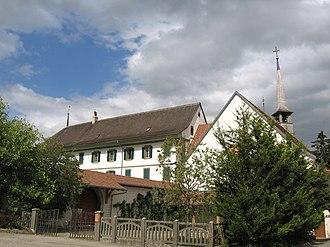 Romont - Image: Romont, Abbaye de la Fille Dieu