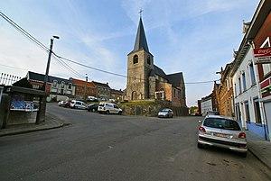 Ronquières - Centre of Ronquières
