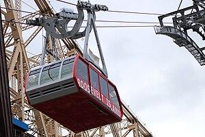 Roosevelt Island Tramway - Image: Roosevelt Island tramcar 2010