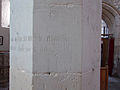 Ropsley St Peter's Thomas Bate column 03.jpg