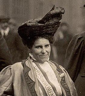 Rosa May Billinghurst British suffragist