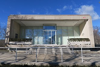 Rose Art Museum - Image: Rose Art Museum, Brandeis University, January 2017, Waltham MA